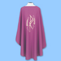 Chasuble-Purple, Embroidery on one side