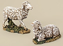 "Figure Only-Sheep, 10"" 2 Pc Set"