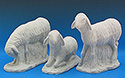 Figure Only-Sheep, 3 Pc Set