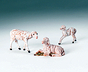 "Figure Only-Sheep,  5"", 3/Set Brown"