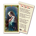 Holy Card-Mystical Rose