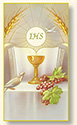Holy Card-Sheet, Communion