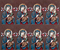Holy Card-Sheet, Lady Of Perpetual Help
