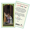 Holy Card-St Joseph And Mary