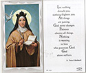 Holy Card-St Theresa