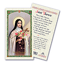 Holy Card-St Therese