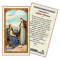Holy Card-Sta Monica