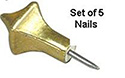 Paschal Nail Set-Gold