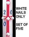 Paschal Nail Set-White, Cathedral