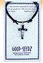 Pendant-Crucifix On Cord