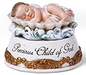 Statue-Baby In Shell-  3